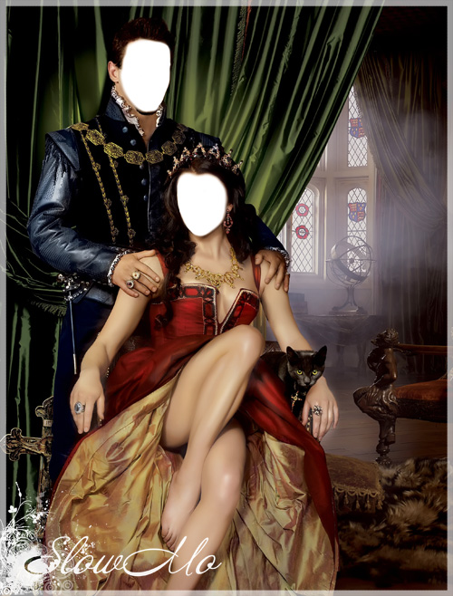 Парный шаблон для фотошоп - Королевская чета/1321356522_King_family_Cover (500x658, 178Kb)