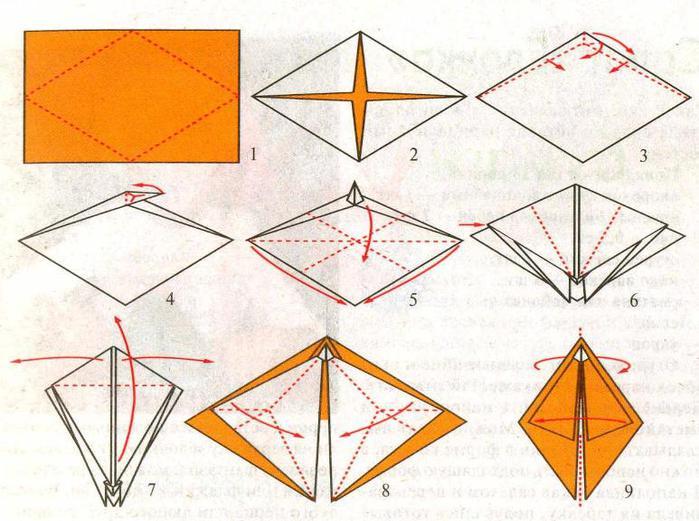 Оригами из бумаги Оригами для.