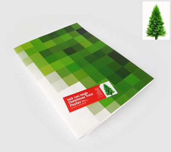 Альтернативная новогодняя елка спасает хвойные леса