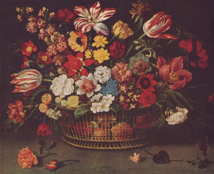 красивая карзина с цветами/1323609795_buket (700x567, 56Kb)