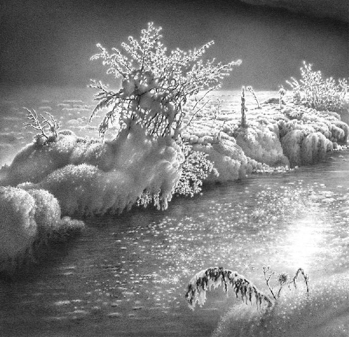 Рисунки форм земной поверхности