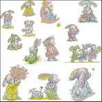 Превью кролики (700x693, 344Kb)