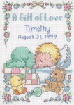 Превью Dimensions16657 A Gift of Love Birth Record PCS (213x300, 37Kb)