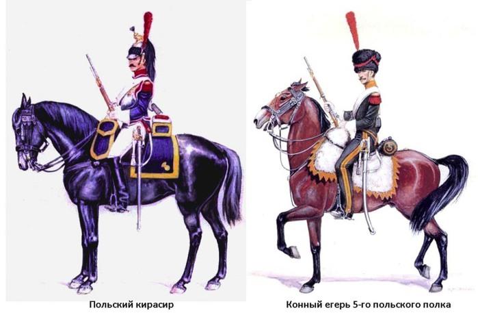 14 кирасир и конный егерь польши (700x457, 67Kb)