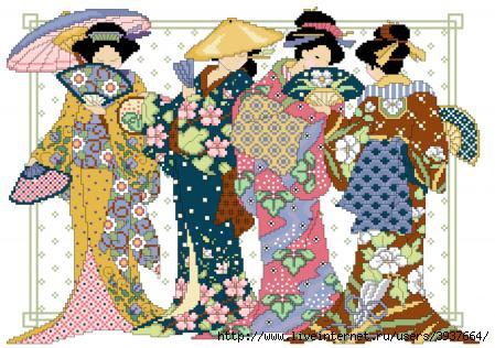 Предыдущее изображение.  Домой. вышивание. вышивания. крестом. набор.  Новые работы. японки.  4. вышивка. для.