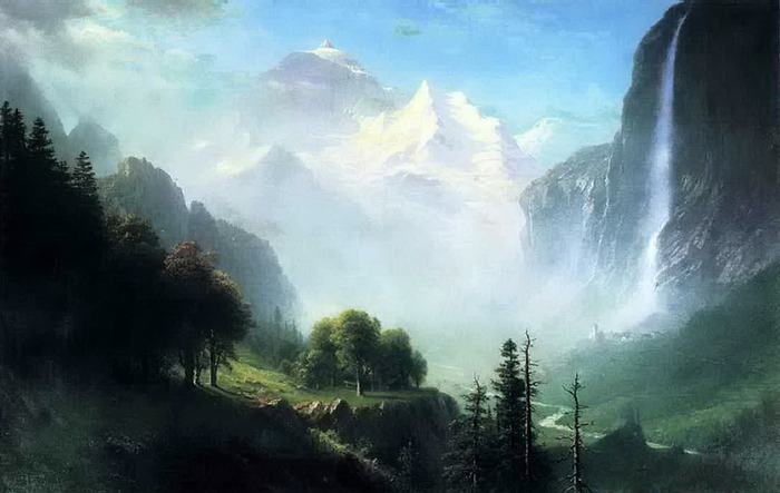 4Albert Bierstadt (7 января 1830, Золинген 18 февраля 1902, Нью-Йорк) (700x443, 72Kb)
