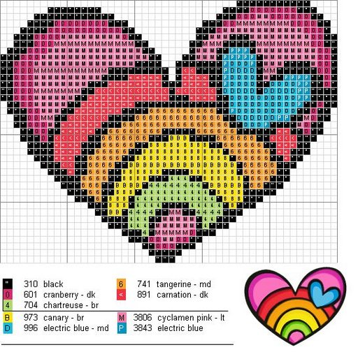 радужное сердце (512x504