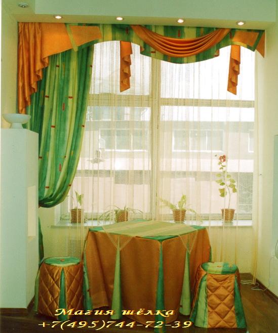 Модные шторы на кухню шторы