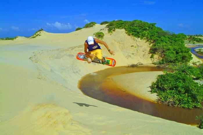 Бразилия, Национальный парк Ленсойс Мараньенсес 74001