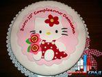 Давно собиралась выложить фото детских тортов Hello Kitty.
