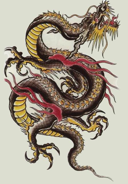 Китайский черный дракон - символ 2012 года