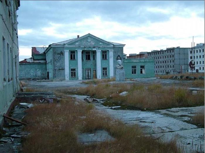 Мертвый город на Чукотке - Иултин