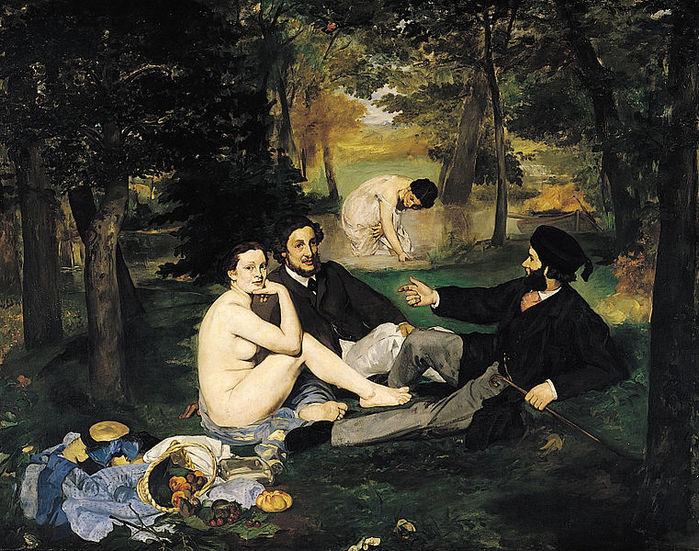 761px-Édouard_Manet_-_Le_Déjeuner_sur_l\'herbe1863 (700x551, 129Kb)