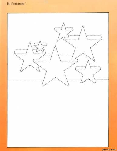 Схемы для вырезания открытки