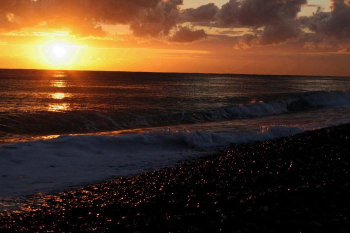 закат море (700x466, 74Kb)
