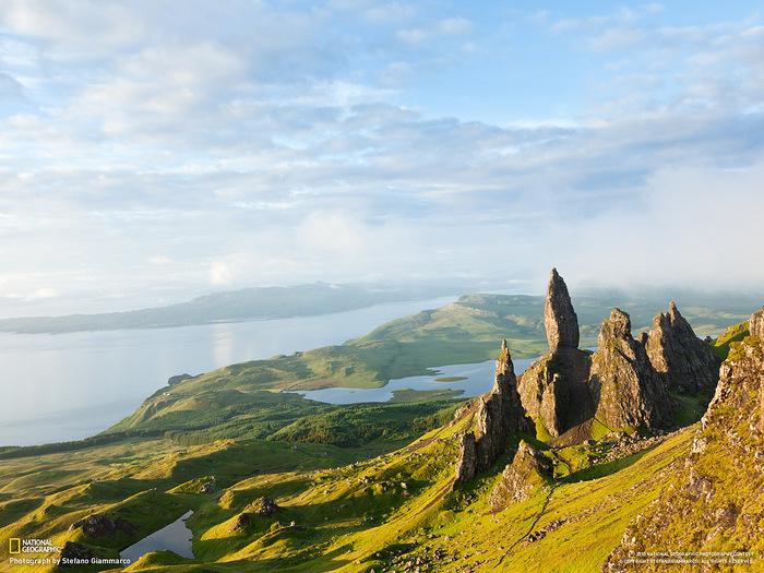 красивая природа - горы и реки (700x525, 171Kb)