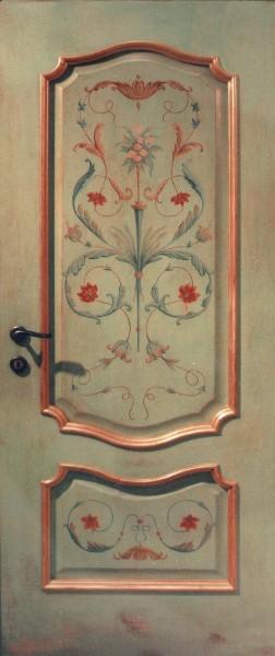 Двери роспись своими руками