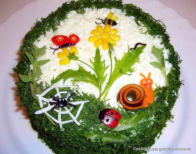 Украшение и необычные способы подачи блюд,салатов,выпечки и бутербродов . 81206701_ori25478ginal
