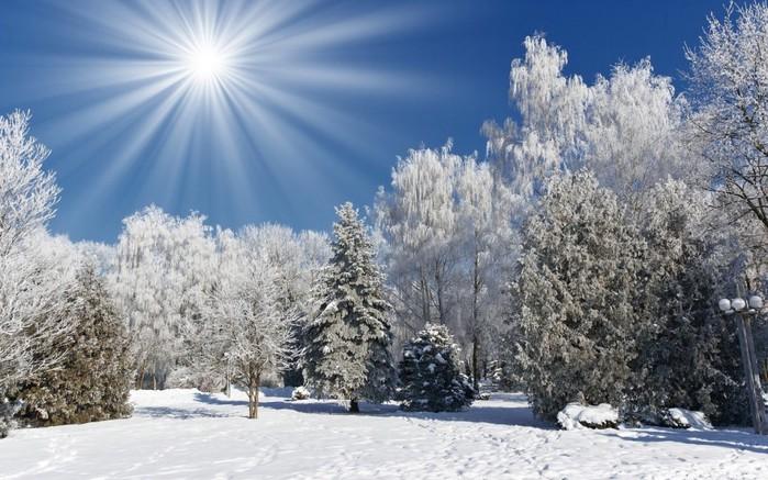 25 красивая зима (699x437, 110Kb)