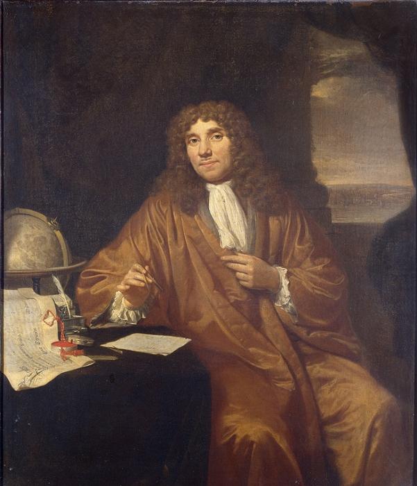 Jan_Verkolje_-_Antonie_van_LeeuwenhoekPortrait of Anthonie van Leeuwenhoek (1632-1723). (601x700, 321Kb)