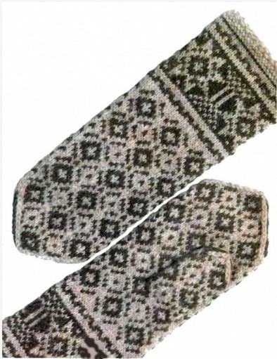 """Автор: Admin Дата: 03.01.2014 Описание: Вязание варежек с рисунком  """"-- Схемы вязания здесь.  Три вида рисунков."""