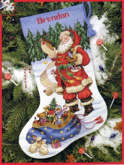1. схемы в PM.  Рождественские сапожки , много.