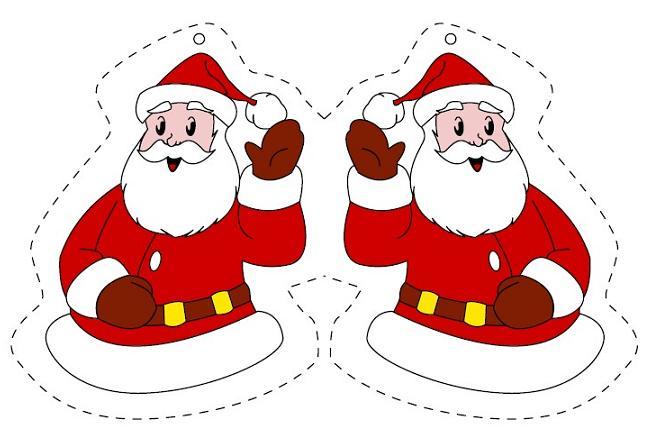 Как сделать новогодний дед мороз иКак сделать