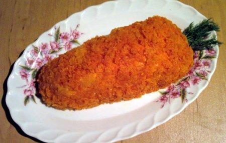 рецепт салат коктейль с языком: салат из курицы и огурцов.