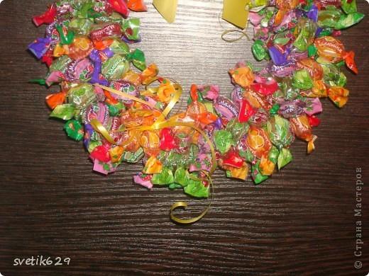 Как сделать обруч конфетку 65