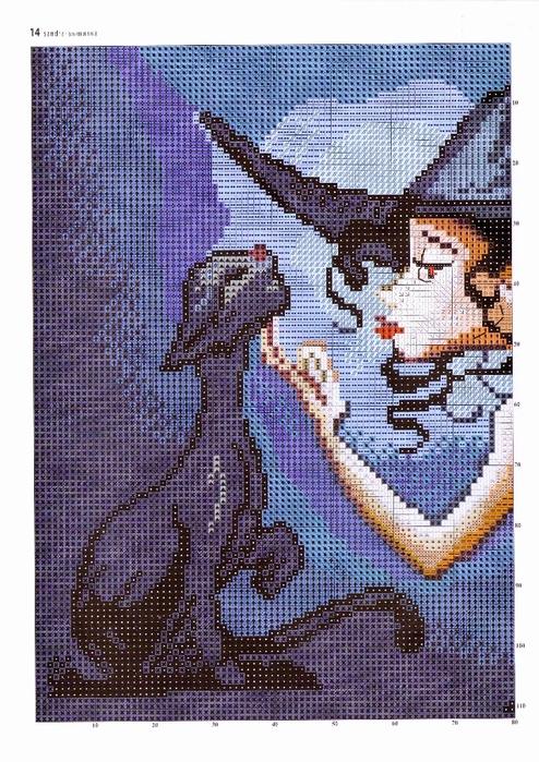 Маленькая ведьмочка.