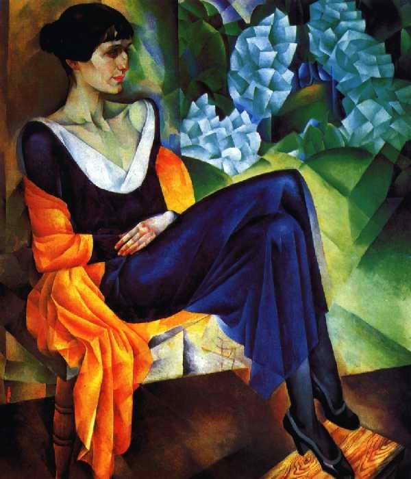 3Альтман Натан Исаевич. Портрет поэтессы А. А. Ахматовой. 1914г (600x700, 46Kb)