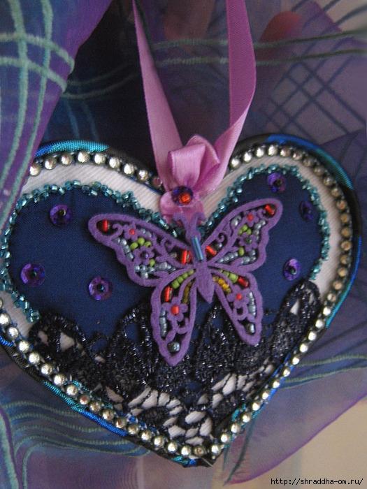 сердечко с бабочкой, hand made, автор Shraddha, 2 (525x700, 288Kb)