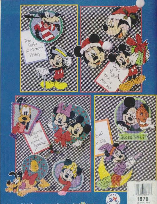 Mickey Mouse Magnets 00BC