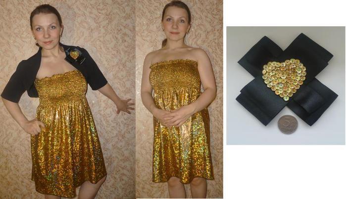Платье из ткани с пайетками как сшить