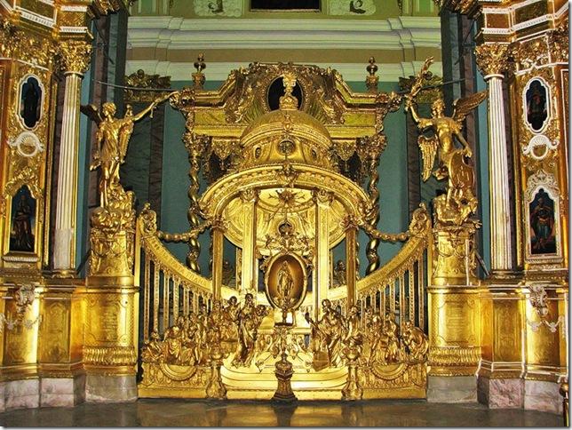 петропавловский собор внутри фото