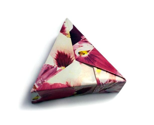 Треугольная коробочка, автор