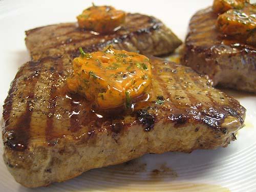 Зразы из говяжей вырезки с жареным картофелем