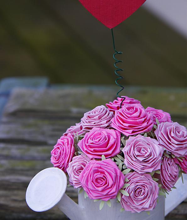 Как делать розы