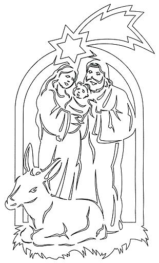 Рождественские шаблоны своими руками