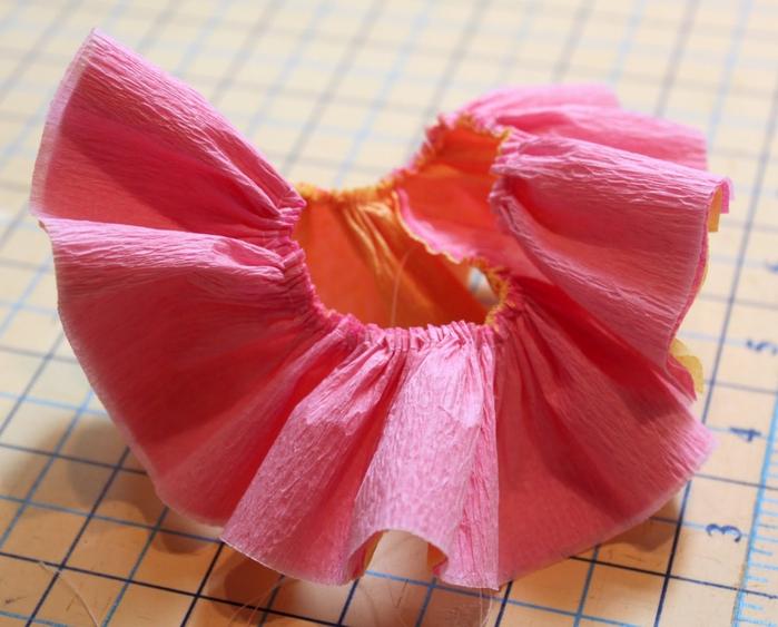 Как сделать платья из гофрированной бумаги фото
