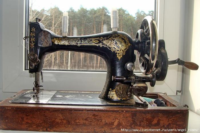 Ремонт швейной машинки зингер фото