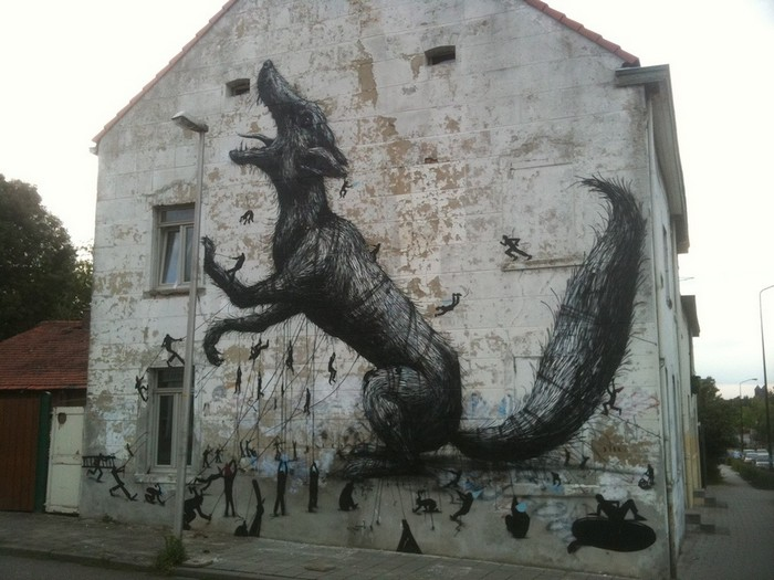 Лучшие стрит-арт рисунки со всего света