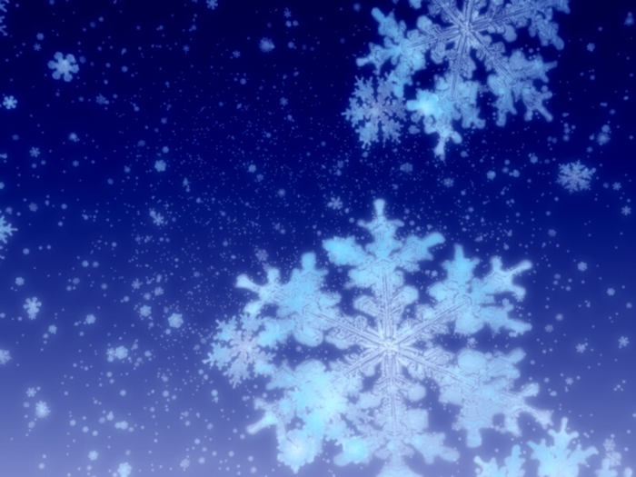 snowflakes on blue (700x525, 514Kb)