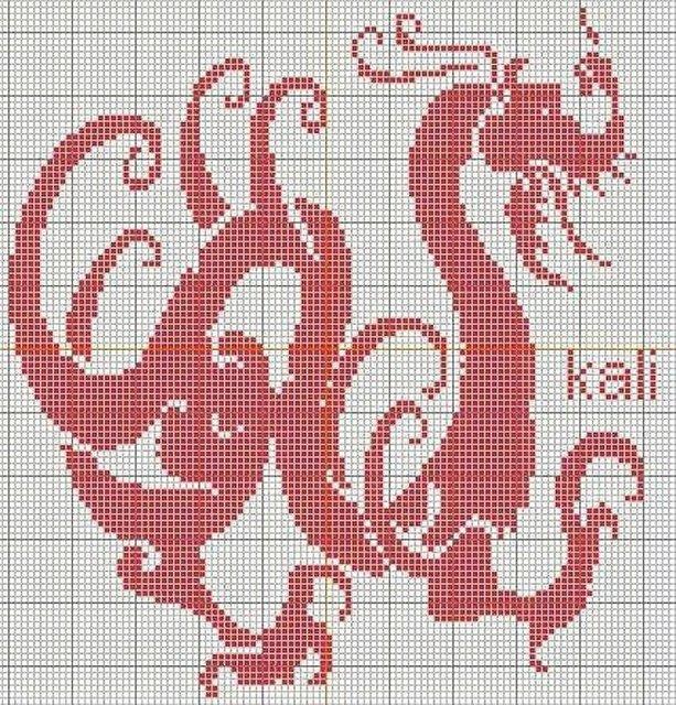 схема дракона (613x640, 180Kb)