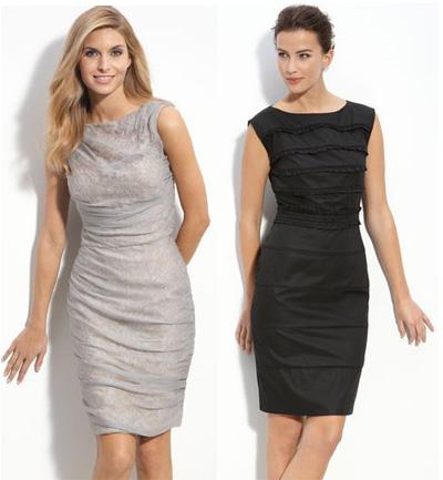 Платье-футляр.  50 интересных моделей.