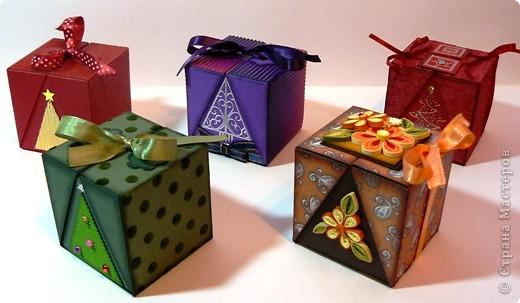 Коробки для подарков своими руками на новый год