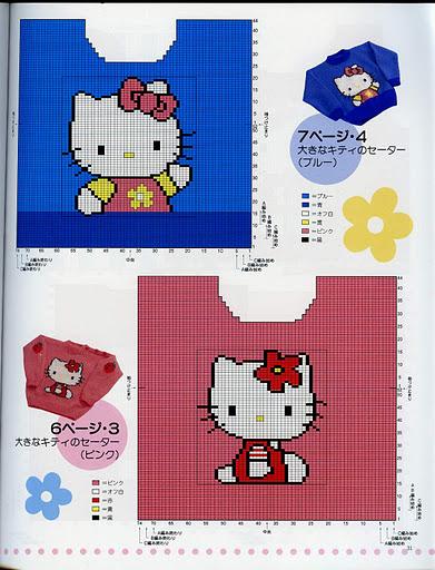 Схемы Многоцветного Вязания