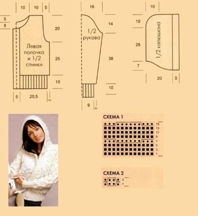 Схемы вязания девочкам и
