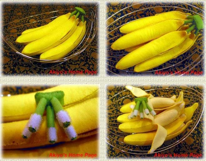 Банан объемный своими руками 6