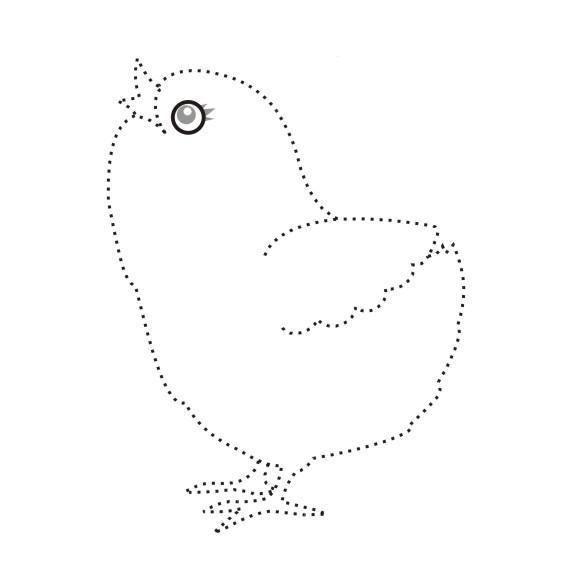 рисунки по точкам для детей: